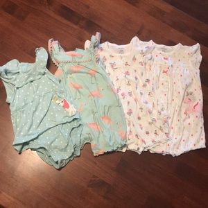 Bundle Carter's summer one piece outfits